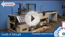 Horizontal Flow Wrapper - Great Lakes Model TS37 - Loeb