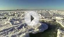 Ice Break up on Lake Huron 2014