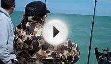Lake Huron Salmon Fishing May 2011