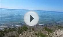 lake huron shoreline video from june21 2015