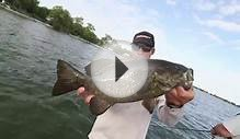Lake Ontario Jerkbait Bass with Elite Series Champ Brandon