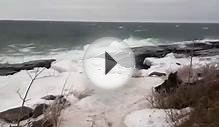 Lake Superior Storm at Stoney Point