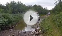 Nissan Patrol Toyota Land Cruiser Lada Niva 4x4 Water Crossing