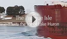 Presque Isle Meets the Ice of Lake Huron