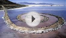 Spiral Jetty, Rozel Point, Great Salt Lake, Utah, United