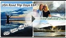 USA Road Trip: Days 8&9 [Tornado?! Great Salt Lake